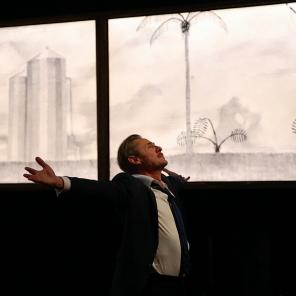 Abnégation, d'Alexandre Dal Farra, mis en scène par Guillaume Durieux, au Monfort-Théâtre