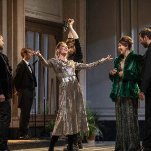 Le Côté de Guermantes, d'après Marcel Proust, adaptation et mise en scène Christophe Honoré, à la Comédie-Française