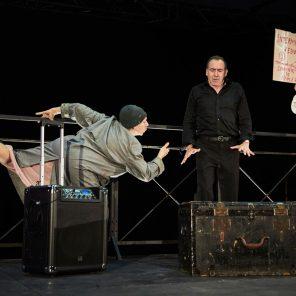 Amitié, textes d'Eduardo de Filippo et Pier Paolo Pasolini, mise en scène Irène Bonnaud, au Théâtre de la Croix-Rousse