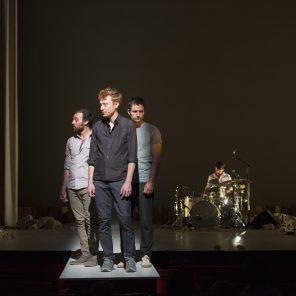 Face à la mère, texte de Jean-René Lemoine, mise en scène d'Alexandra Tobelaim, Création musicale d'Olivier Mellano, Théâtre de la Tempête