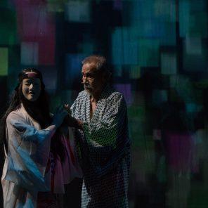 Sleeping d'après Yasunari Kawabat, mise en scène de Serge Nicolaï, Théâtre Sylvia Montfort