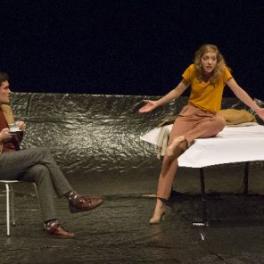 Où les cœurs s'éprennent, d'après Eric Rohmer, mis en scène par Thomas Quillardet, Théâtre de la Tempête