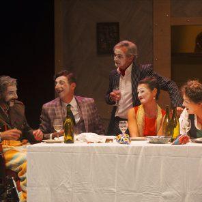 La noce, de Bertolt Brecht, mise en scène d'Olivier Mellor, au Théâtre de l'épée de bois, Cartoucherie de Vincennes