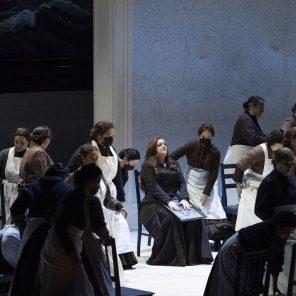 Le vaisseau fantôme, musique et livret de Richard Wagner, direction musicale de Hannu Lintu, mise en scène de Willy Decker, Opéra Bastille